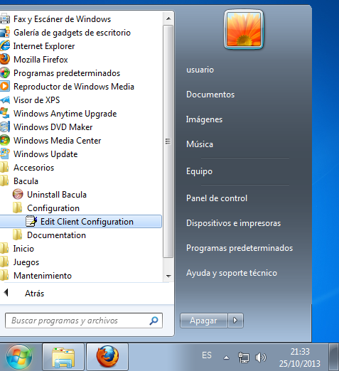 bacula windows 5