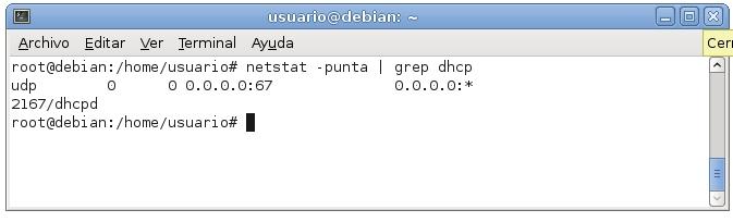 servidor dhcp en debian 7