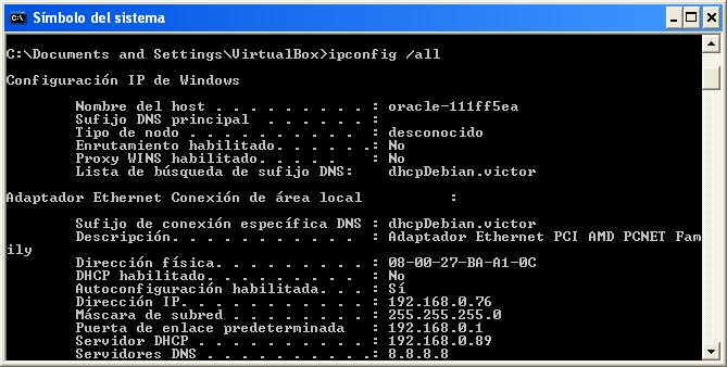servidor dhcp en debian 8
