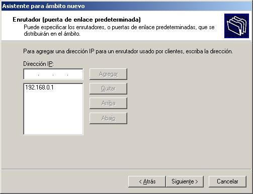 servidor dhcp en windows 11