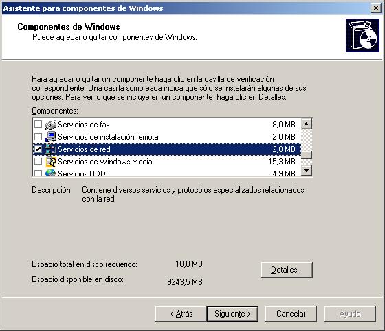servidor dhcp en windows 2