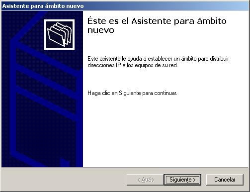 servidor dhcp en windows 7