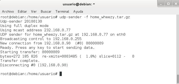 udpcast udp-sender debian