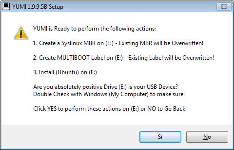 Hacer un usb multibooteable con Yumi 2
