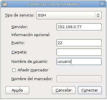 servidor ssh en debian 15