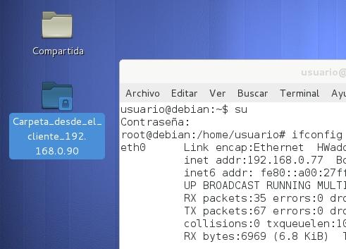 servidor ssh en debian 8