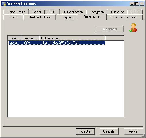 ssh en windows 12