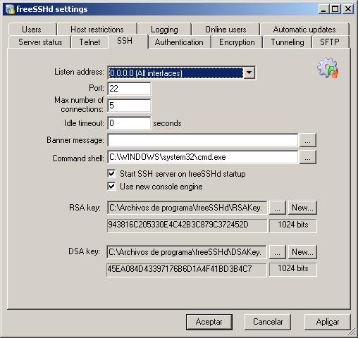 ssh en windows 3