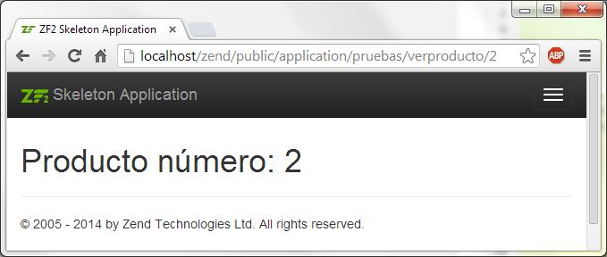 rutas y pasar valores por url en zend framework 2 valor url