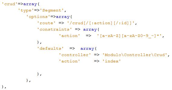 rutas y pasar valores por url en zend framework 2