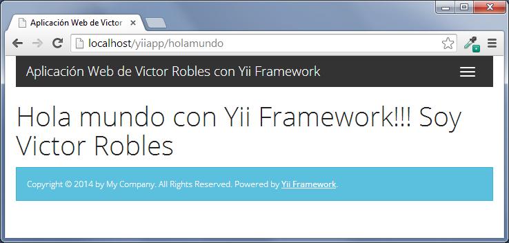 plantillas en yii framework twitter bootstrap 3
