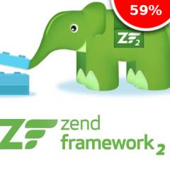 Cupón de descuento del 60% en el curso de Zend Framework 2