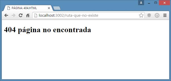 rutas basicas en node.js 404