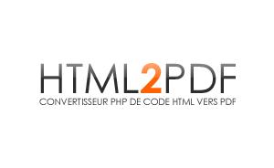 Generar PDF desde PHP con HTML2PDF