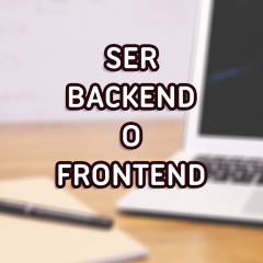 Desarrollador front-end, back-end o full-stack