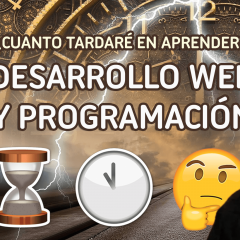 ¿Cuanto tiempo se tarda en aprender a programar un lenguaje o framework?