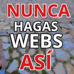 Como NO hacer una web NUNCA