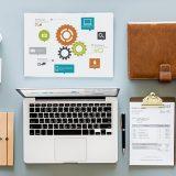 La zona de trabajo de un desarrollador web